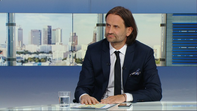 Piotr Bromber w Polsat News /Polsat News