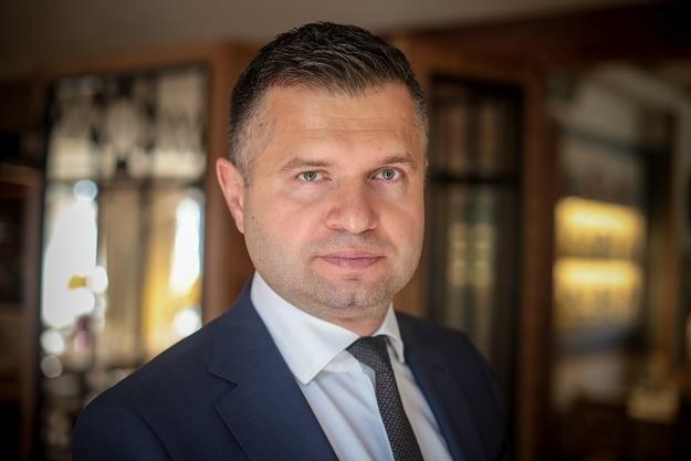 Piotr Bujak, głowny ekonomista PKO BP. /Marek Wiśniewski /Agencja FORUM