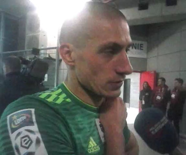 Piotr Celeban po meczu z Górnikiem Zabrze (2-2). Wideo