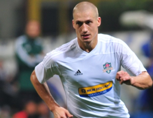Piotr Celeban w barwach FC Vaslui /AFP