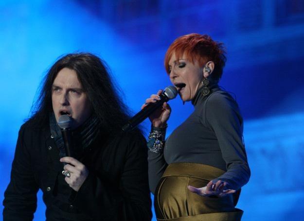 Piotr Cugowski i Ania Wyszkoni znów zaśpiewali razem - fot. Andrzej Wrzesiński /East News