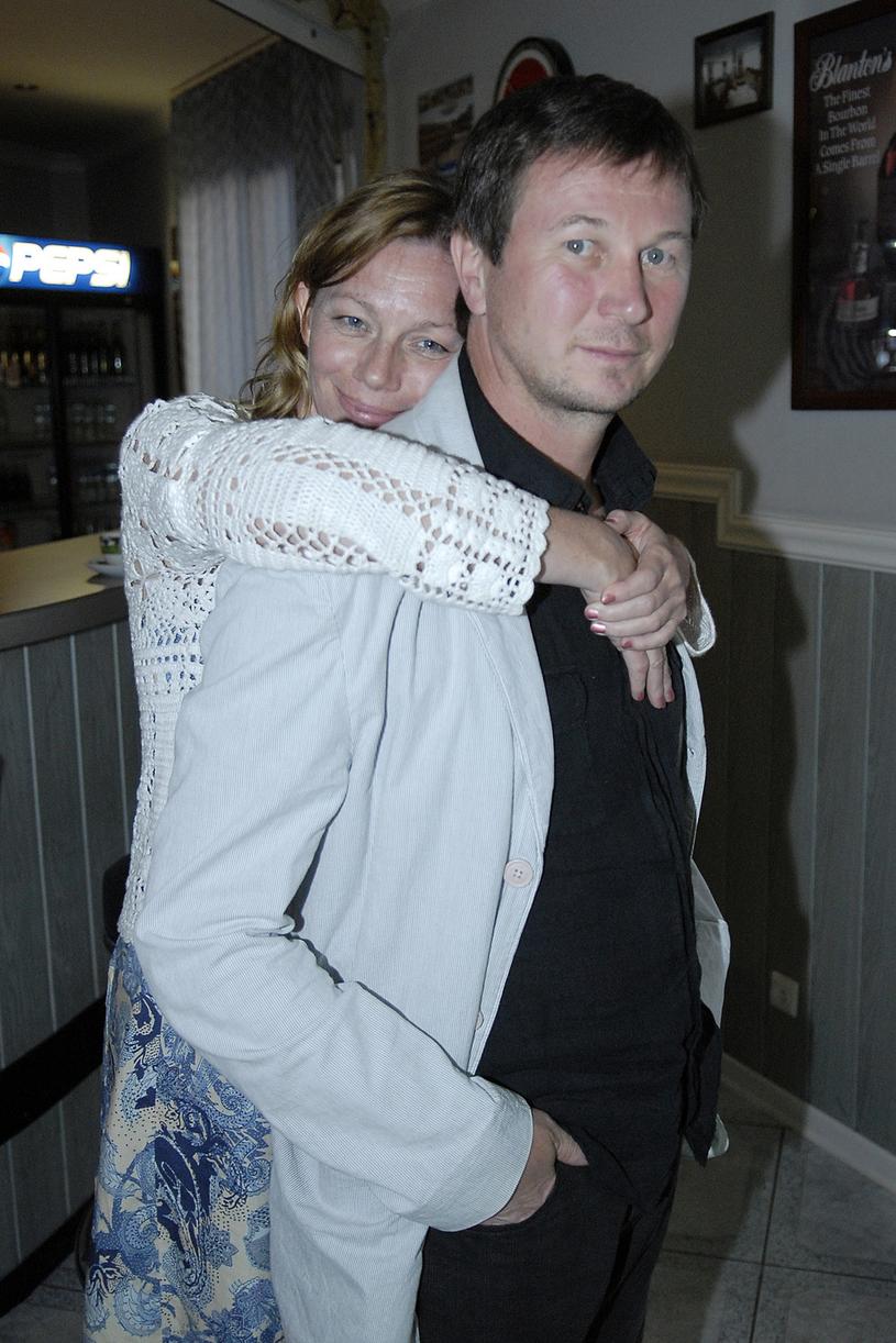 Piotr Cyrwus i Maja Berełkowska, 2007 rok /Kurnikowski /AKPA
