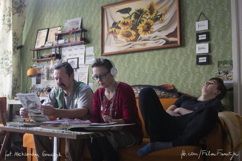 """Piotr Cyrwus na planie """"Fanatyka"""" /Aleksandra Graczyk fb.com/filmfanatyk /INTERIA.PL/materiały prasowe"""