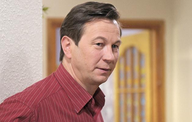 "Piotr Cyrwus na planie ""Klanu""  /Niemiec /AKPA"