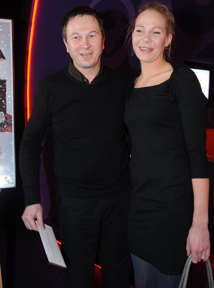 Piotr Cyrwus z córką Anną /Tricolors /East News