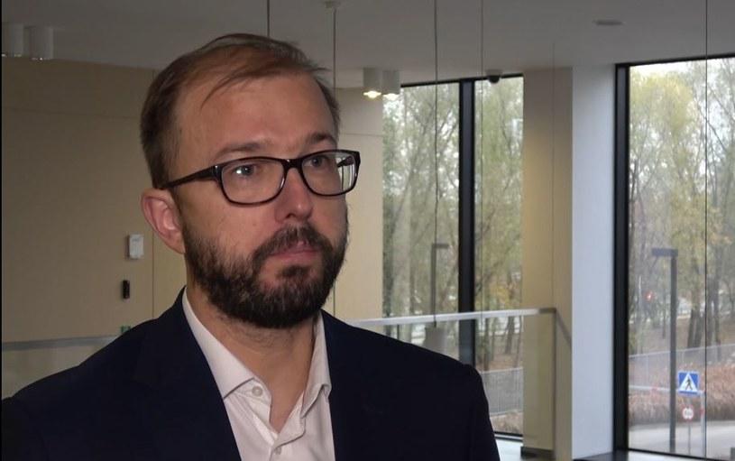 Piotr Dardziński, prezes Sieci Badawczej Łukasiewicz /INTERIA.PL