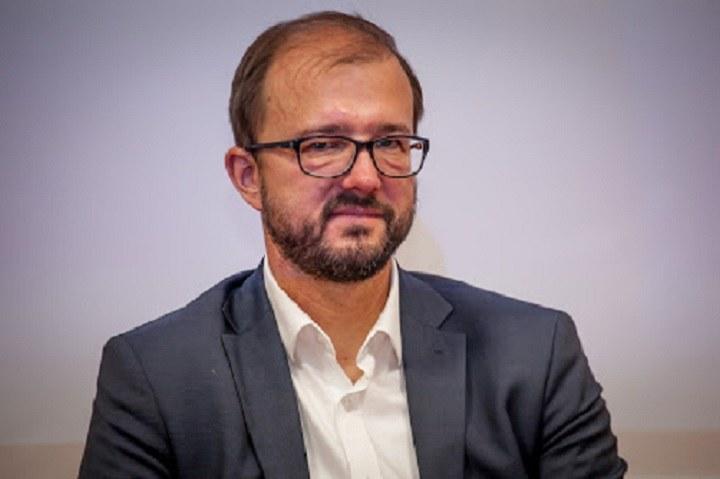 Piotr Dardziński, prezes Sieci Badawczej Łukasiewicz. /INTERIA.PL