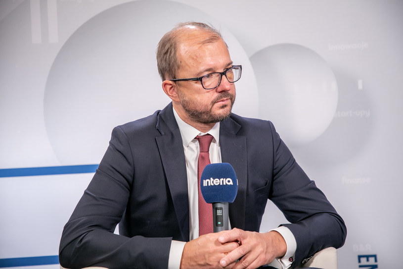 Piotr Dardziński, Jefe de la Red de Investigación Łukasiewicz / Foto.  Ireneus Rick / INTERIA.PL