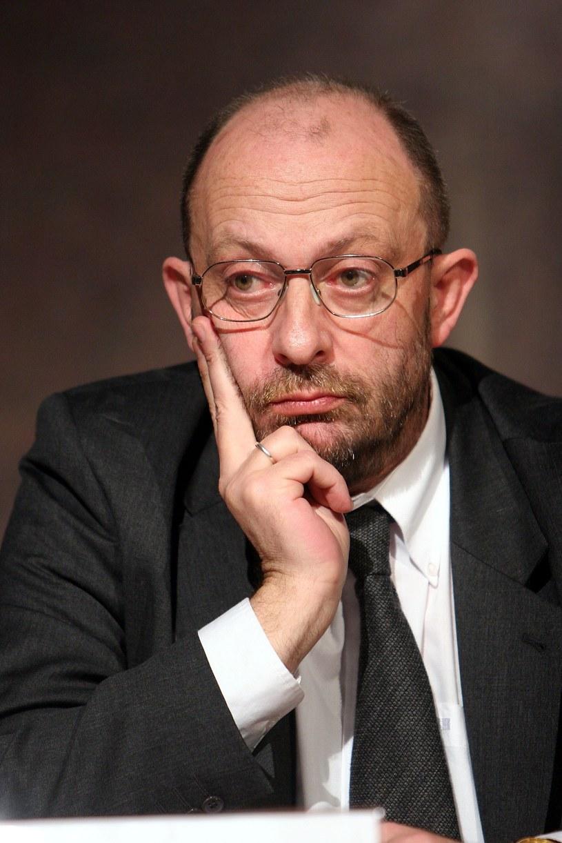 Piotr Dejmek w 2005 roku /Piotr Fotek /Reporter