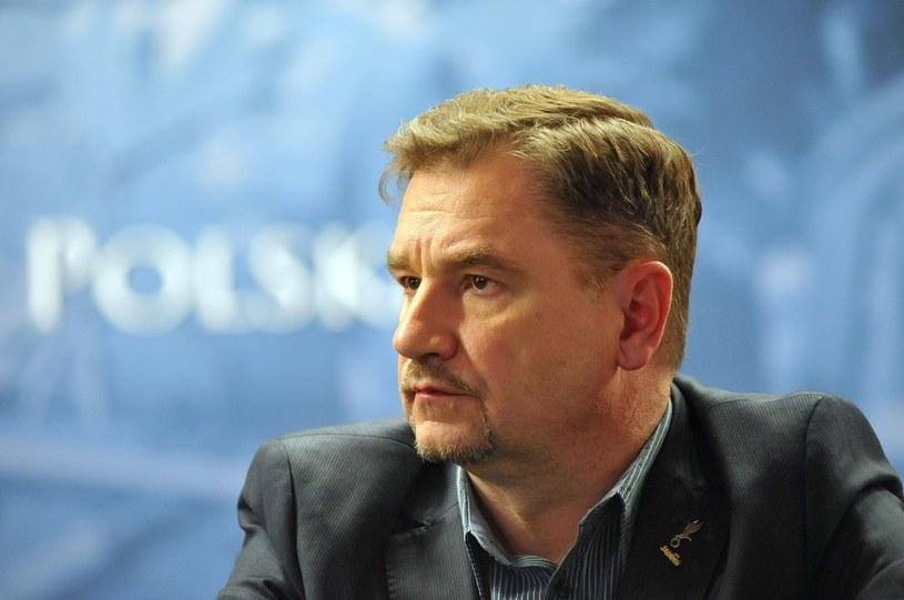 """Piotr Duda, przewodniczący NSZZ """"Solidarność"""", fot. Wojciech Stróżyk /Reporter"""