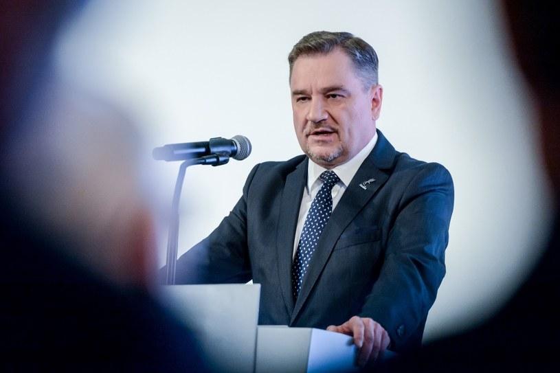 Piotr Duda, przewodniczacy NSZZ Solidarność /Mariusz Gaczyński /East News