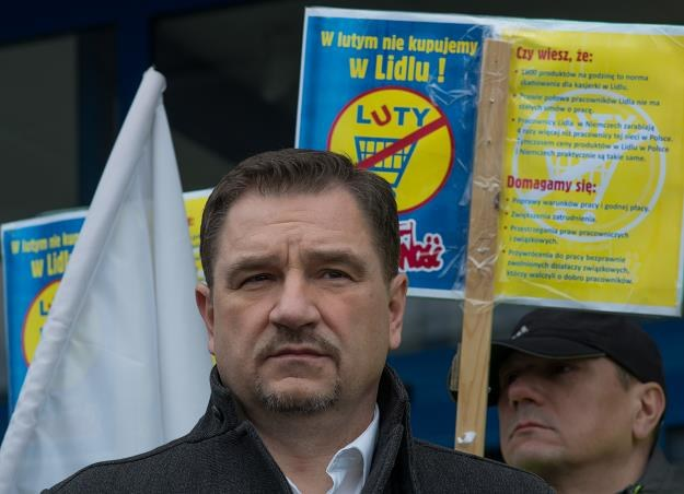 Piotr Duda, szef NSZZ Solidarność /PAP