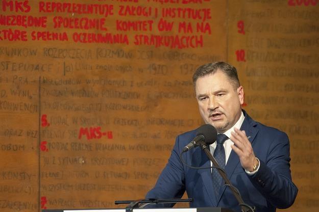Piotr Duda - szef Solidarności. Fot. Wojciech Stróżyk /Reporter