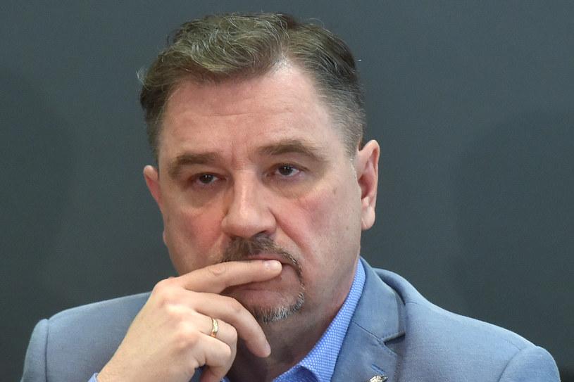 """Piotr Duda, szef """"Solidarności"""" /Łukasz Dejnarowicz /Agencja FORUM"""
