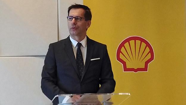 Piotr Dziwok, prezes Shell Polska /Krzysztof Mrówka /INTERIA.PL