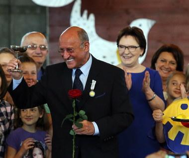 Piotr Fronczewski odznaczony Orderem Uśmiechu
