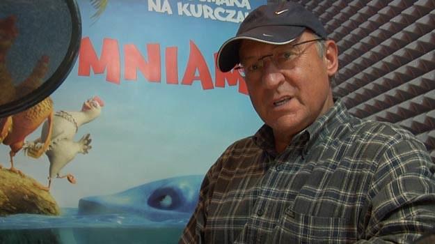 Piotr Fronczewski użyczył głosu rekinowi Szczenie /materiały dystrybutora