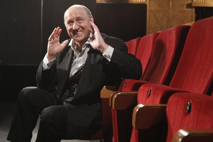 """Piotr Fronczewski w spektaklu """"Ja, Feuerbach"""" (2013) /AKPA"""