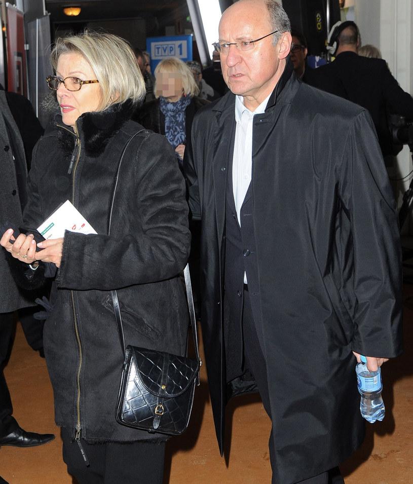 Piotr Fronczewski z żoną Ewą /Radoslaw Nawrocki /Agencja FORUM