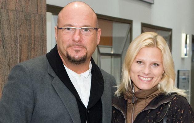 Piotr Gąsowski i Ania Głogowska, fot. Jarosław Antoniak  /MWMedia