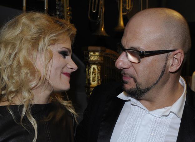 Piotr Gąsowski i Anna Głogowska /A. Szilagyi /MWMedia