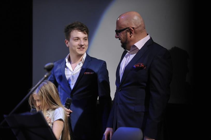 Piotr Gąsowski i Jakub, 2016 rok /Niemiec /AKPA
