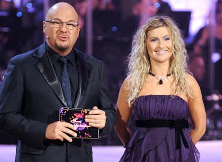 Piotr Gąsowski i Katarzyna Skrzynecka, fot. Andrzej Szilagyi /MWMedia