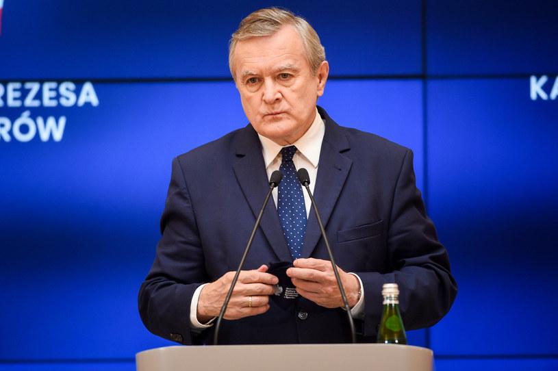 Piotr Gliński, minister kultury, dziedzictwa narodowego i sportu /Zbyszek Kaczmarek /Reporter