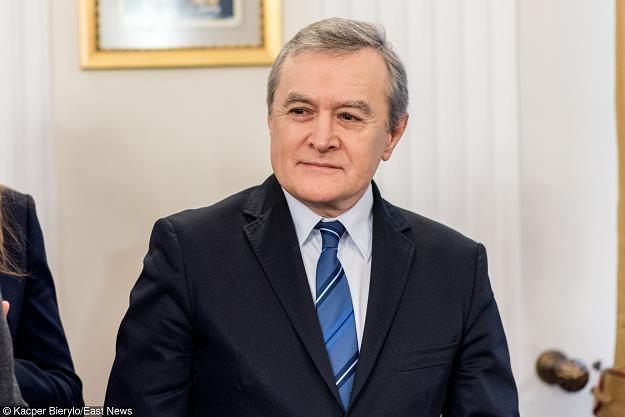 piotr Gliński, minister kultury, wicepremier, fot. KACPER BIERYLO /East News