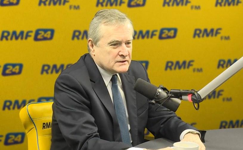 Piotr Gliński w RMF FM: Misiewicz to obciążenie wizerunkowe dla PiS /RMF
