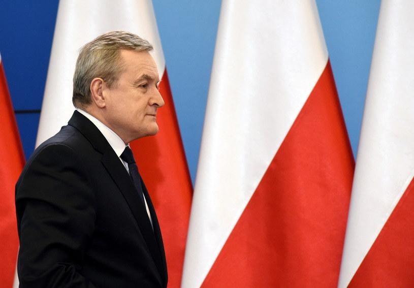 Piotr Gliński /Radek Pietruszka /PAP