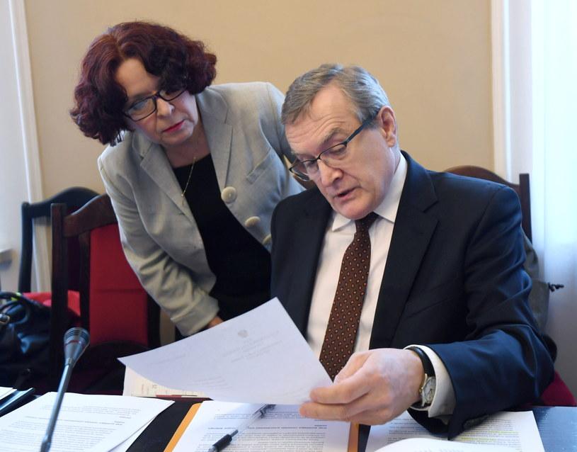 Piotr Gliński /Bartłomiej Zborowski /PAP