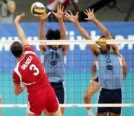 Piotr Gruszka w meczu z Grecją zdobył 19 punktów /www.fivb.org