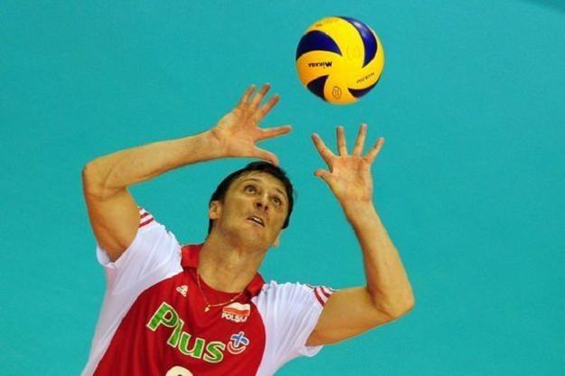 Piotr Gruszka zagrałw reprezentacji B. /AFP