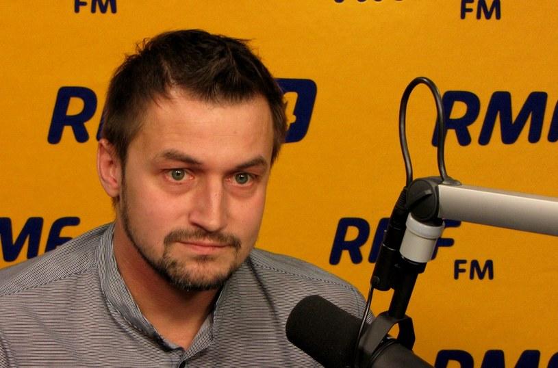 Piotr Guział, burmistrz Ursynowa /RMF