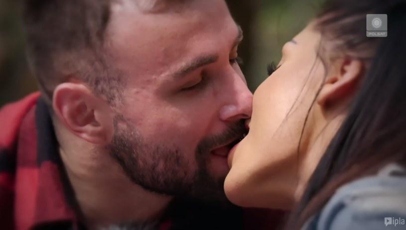 "Piotr i Stella. Screen z ""Love Islannd"" odc. 5. /Polsat/Ipla /Polsat"