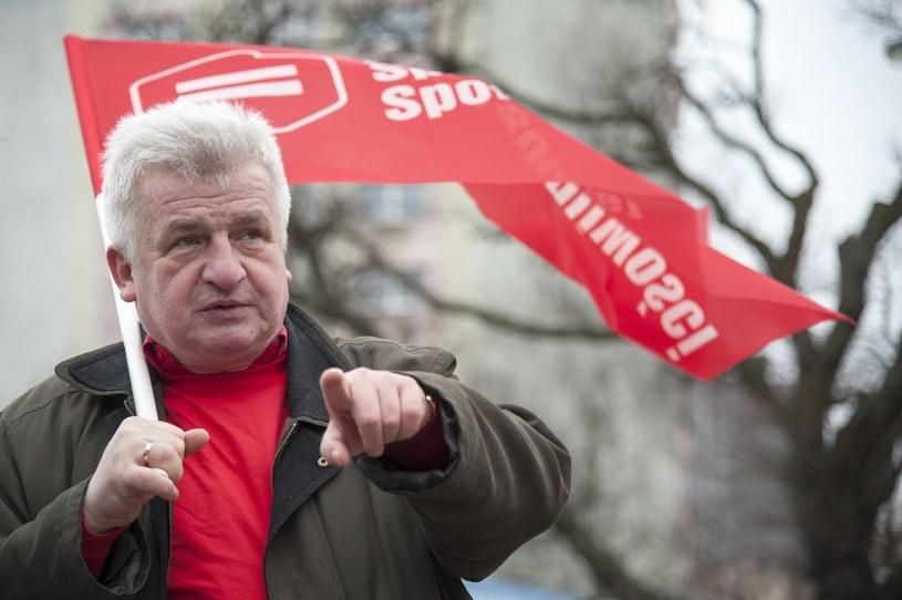 Piotr Ikonowicz, kandydat Ruchu Sprawiedliwości Społecznej /Wojciech Strozyk/ /Reporter