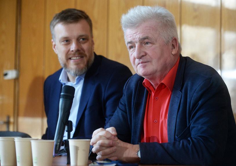 Piotr Ikonowicz na kongresie Lewicy Razem /Jan Bielecki /East News