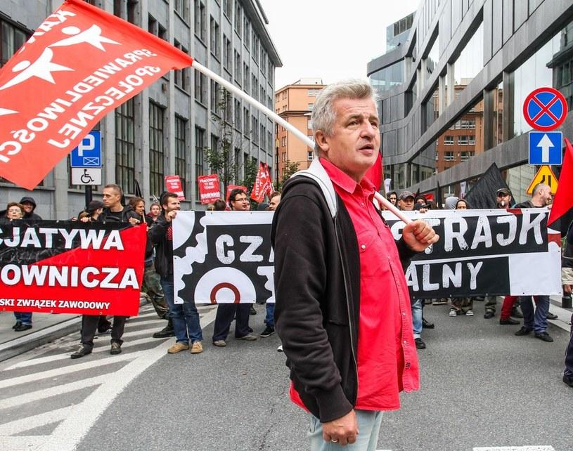Piotr Ikonowicz /Przemysław Gętka /Reporter