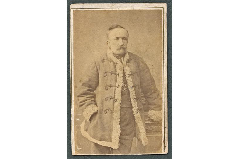 Piotr Janicki, pradziadek Anny Seniuk /archiwum prywatne