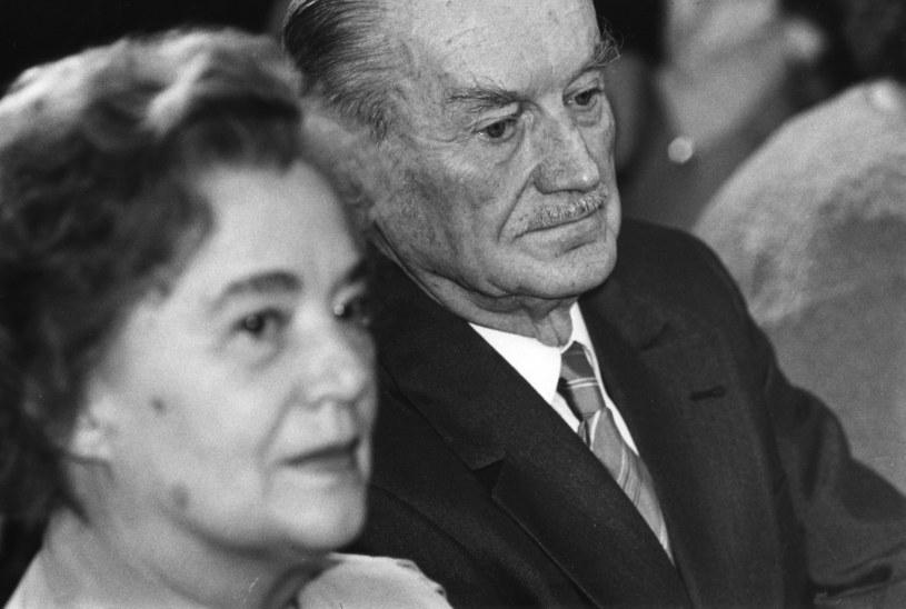 Piotr Jaroszewicz i Alicja Solska-Jaroszewicz /Jaroslaw Stachowicz /Agencja FORUM