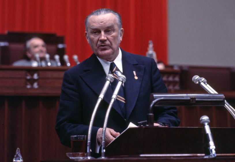 Piotr Jaroszewicz pełnił funcję prezesa Rady Ministrów w latach 1970–1980 /Henryk Rosiak /Agencja FORUM