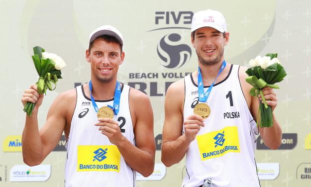 Piotr Kantor i Bartosz Łosiak /Silvio Avila   /PAP/EPA