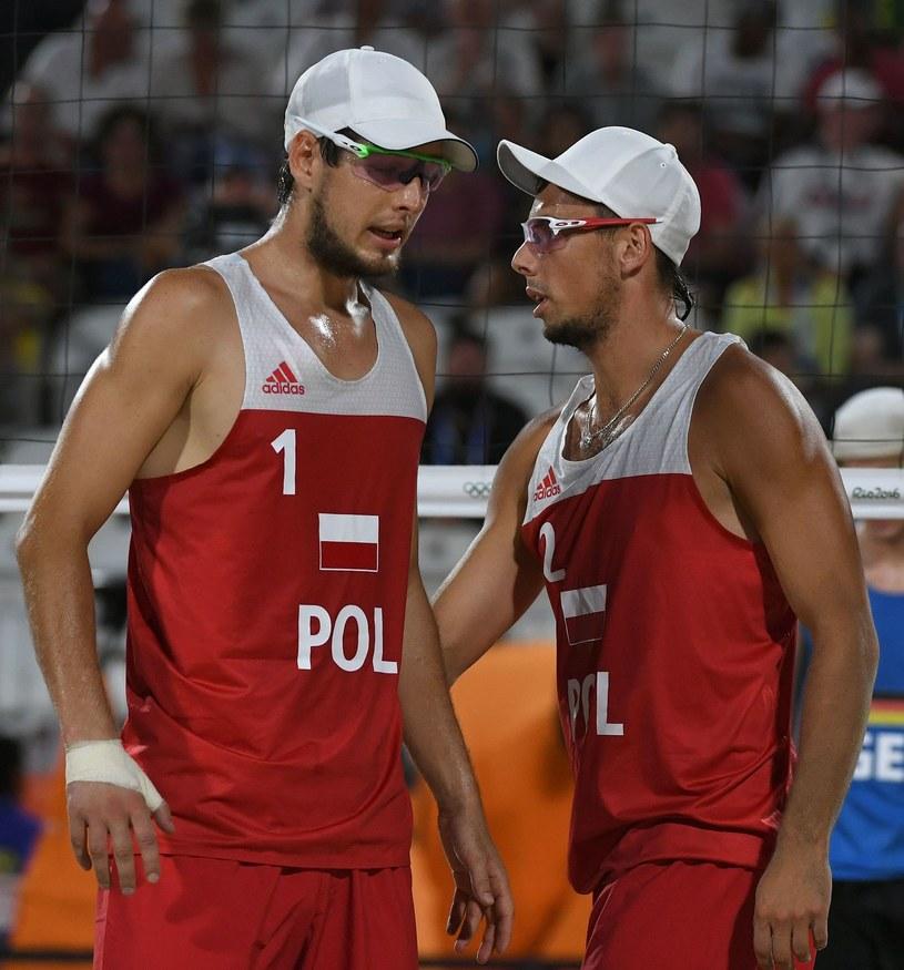 Piotr Kantor (z lewej) i Bartosz Łosiak /AFP