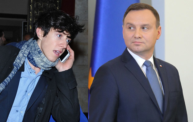 Piotr Kaszubski i Andrzej Duda /- /MWMedia