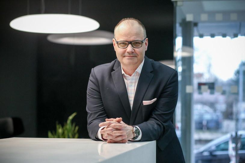 Piotr Kazimierski, prezes Baltony /Marek Wiśniewski /Agencja FORUM