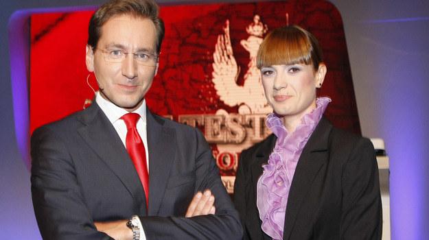 Piotr Kraśko i Paulina Chylewska po raz kolejny poprowadzą Wielki Test z Historii / fot. Engelbrecht /AKPA