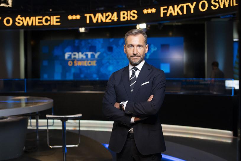 Piotr Kraśko /Krzysztof Dubiel /TVN