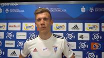 Piotr Krawczyk po meczu Górnik Zabrze - Raków Częstochowa. Wideo