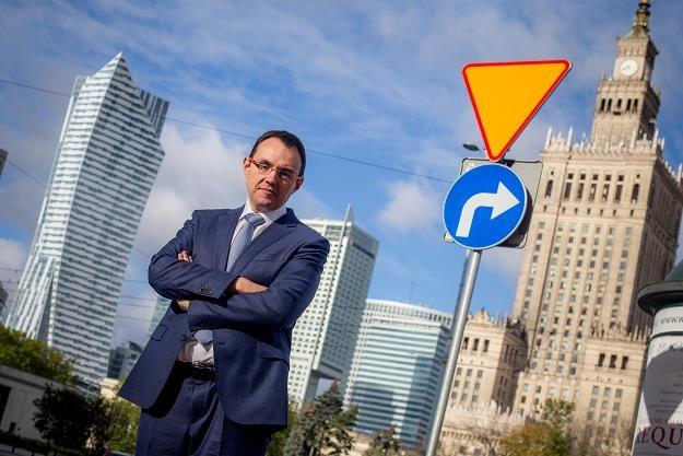 """Piotr Krupa, prezes Kruka. Fot. MAREK WIŚNIEWSKI """"Puls Biznesu """" /FORUM"""
